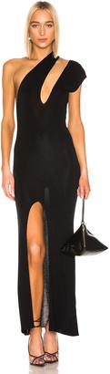 Jacquemus Azur Dress in Black | FWRD