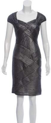 Tadashi Shoji Metallic Embellished Dress