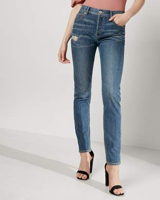 Express High Waisted Original Vintage Skinny Ankle Jeans