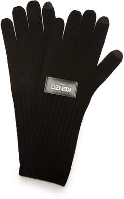 KENZO Texting Gloves $95 thestylecure.com