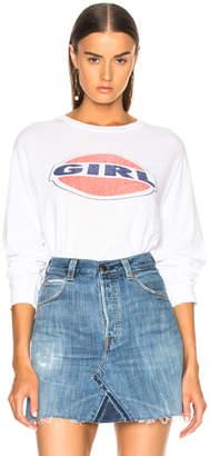 RE/DONE ORIGINALS Girl Graphic Tee