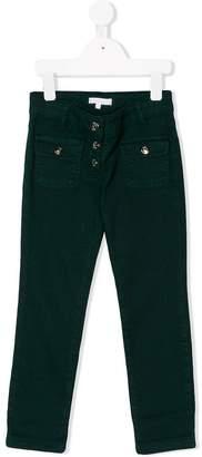 Chloé Kids straight leg jeans