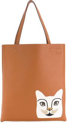Loewe cat tote bag