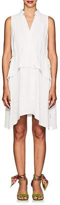 Derek Lam 10 Crosby Women's Tiered Crepe Dress