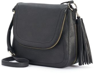 Apt. 9® Ruby Fishmouth Crossbody Bag $59 thestylecure.com