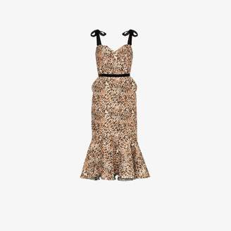 57148c3d4297 Johanna Ortiz Love Between Species leopard print dress