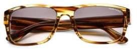 Tom Ford Mason Gradient Lens 58mm Rectangular Sunglasses