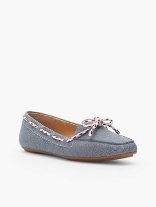 Talbots Becca Moccasins - Sueded Denim