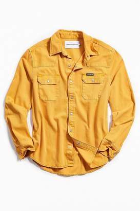 Calvin Klein Western Long Sleeve Button-Down Shirt