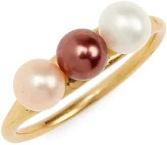 Madewell Triple Pearl Ring
