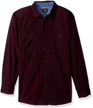 Lee Men's Long Sleeve Button Down Shirt