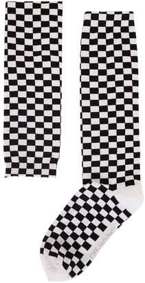 Off-White Off White Chequered socks