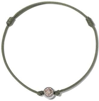 Shamballa Jewels 18kt rose gold & diamond Orb charm bracelet