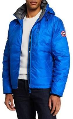 Canada Goose PBI Down-Fill Lodge Hoodie Jacket, Royal Blue