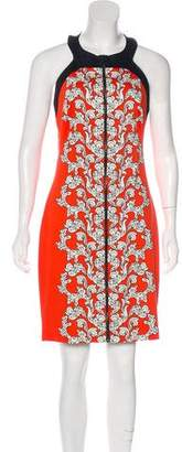 Robert Rodriguez Printed Knee-Length Dress