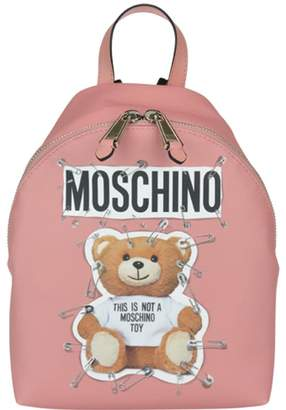 Moschino Safety Pin Teddy Small Backpack