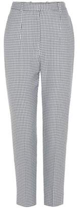Alexander McQueen Houndstooth trousers