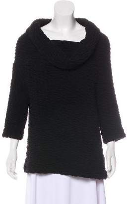 Yigal Azrouel Cowl Neck Wool Sweater
