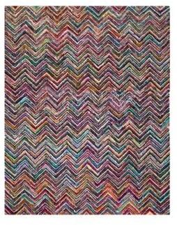 Safavieh Nantucket Hand-Tufted Herringbone Cotton Rug