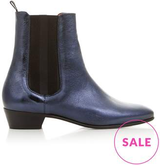Hudson Kenny Metallic Blue Boots