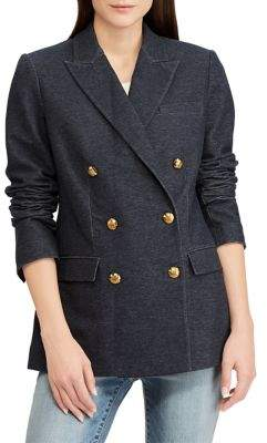 Lauren Ralph Lauren Classic Denim Double-Breasted Blazer