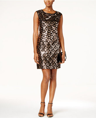 Connected Deco Sequined Dress $99 thestylecure.com