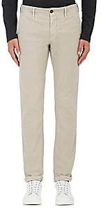 Incotex MEN'S S-BODY SLIM-FIT STRETCH-COTTON TROUSERS