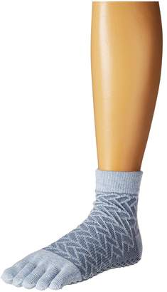 toesox Ankle Full Toe w/ Grip Women's Quarter Length Socks Shoes