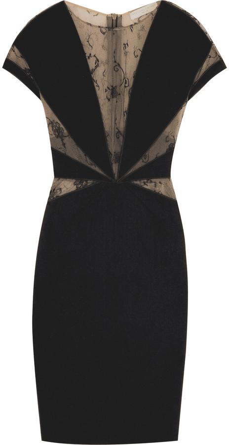 Stella McCartney Stretch lace-paneled dress
