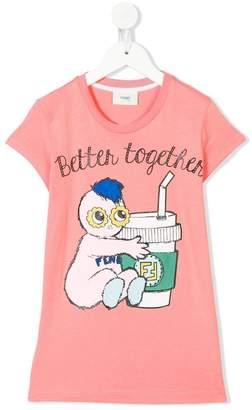 Fendi Better Together print T-shirt