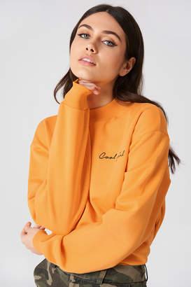 NA-KD Na Kd Cool Girl Sweatshirt Cobolt