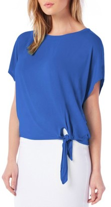 Women's Michael Stars Tie Hem Top $78 thestylecure.com