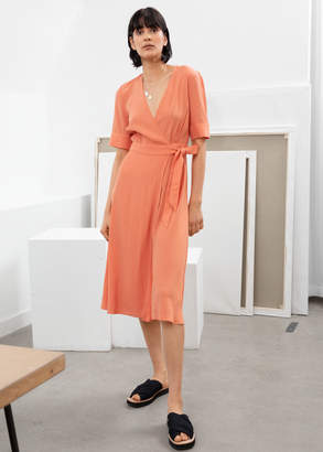 And other stories Midi Wrap Dress