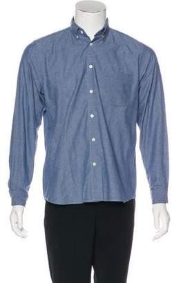 Steven Alan Speckled Button-Up Shirt