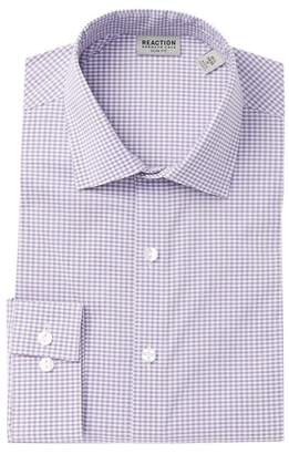 Kenneth Cole Reaction Check Slim Fit Dress Shirt