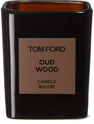Tom Ford Grooming - Oud Wood Scented Candle, 200g - Colorless