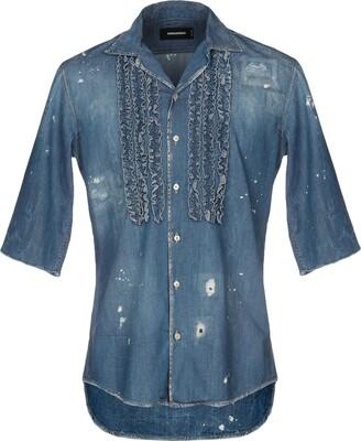 DSQUARED2 Denim shirts - Item 42697068EI