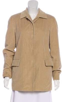 Luciano Barbera Corduroy Short Coat