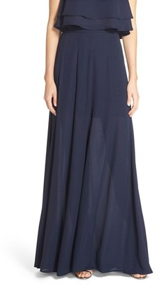 Women's Show Me Your Mumu Princess Ariel A-Line Chiffon Maxi Skirt $176 thestylecure.com
