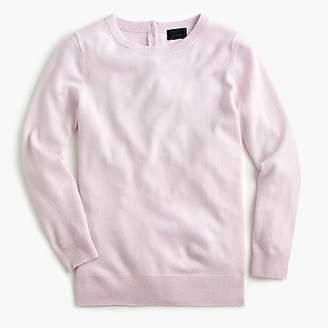 J.Crew Italian cashmere button-back sweater