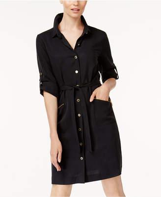 Calvin Klein Utility Shirtdress $159.50 thestylecure.com