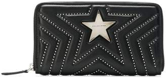 Stella McCartney Stella Star studded zip purse