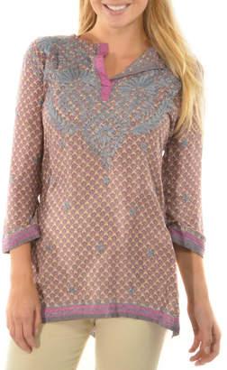 Gretchen Scott Lavender Lovely Tunic
