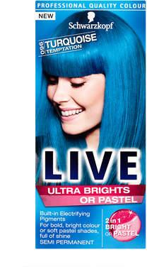 Schwarzkopf LIVE Colour Ultra Bright 096 Turquoise Temptation