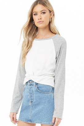 Forever 21 Twisted Raglan Top