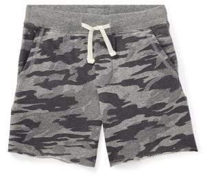 Little Boy's Camo-Print Cotton Shorts