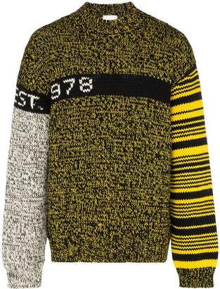 Calvin Klein Jeans Est. 1978 logo knit sweater