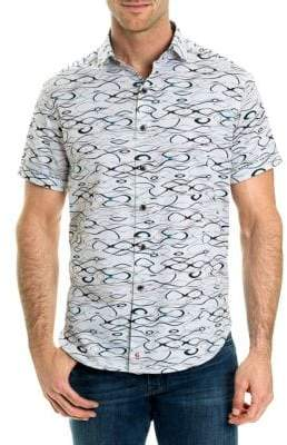 Robert Graham Printed Short-Sleeve Shirt