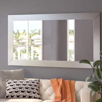 Orren Ellis Hecuba Rectangle Full Length Wood Framed Mirror