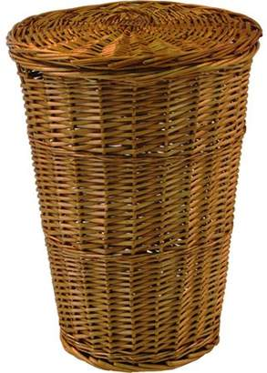 Laundry by Shelli Segal Generic Round Willow Hamper with Matching Lid
